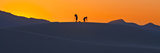 People Taking Photographs on the Dunes at Sunset Photographic Print by Derek Von Briesen
