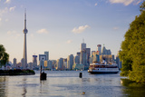 Ferry from Toronto to Centre Island Photographic Print by Tim Thompson