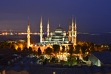 The Blue Mosque, at Dusk Photographic Print by Raul Touzon