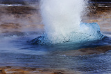 Close Up View of Strokkur Geyser Erupting, Making a Water Column 30 Meters High Every Few Minutes Photographic Print by Babak Tafreshi