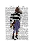 Horse Racing Jockey Full Posters by  Fab Funky