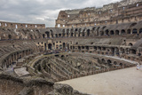 Overlook of the Interior of the Colosseum Photographic Print by Will Van Overbeek
