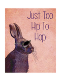 Too Hip to Hop Pink Affiches par  Fab Funky