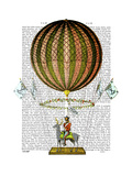 Hot Air Balloon Zephire Posters by  Fab Funky