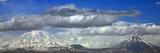 The Double Volcano known as Mount Ararat at the Border of Turkey, Armenia, and Iran Reprodukcja zdjęcia autor Babak Tafreshi