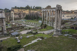 Ancient Ruins at the Roman Forum Photographic Print by Will Van Overbeek