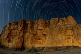 The Night Sky Above the 2500-Year Old Tombs of Ancient Persian Kings of the Achaemenid Empire Photographic Print by Babak Tafreshi