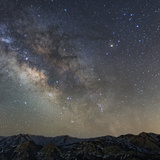 The Milky Way Looks Brightest Towards Sagittarius and Scorpius, Toward the Galactic Center Photographic Print by Babak Tafreshi