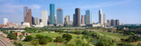 Houston Skyline, Memorial Park, Texas Photographic Print by Panoramic Images
