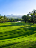 Makena Golf Course in Makena Area of Maui, Hawaii, Usa Photographic Print by Green Light Collection