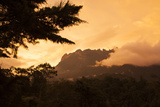 Mount Kinabalu at Sunset Photographic Print by Gabby Salazar