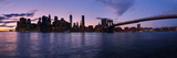 New York Skyline from Brooklyn, New York City, New York State, Usa 2014 Photographic Print by Panoramic Images