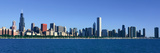 Panoramic View of Chicago Harbor, Chicago, Il Photographic Print by Panoramic Images