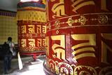 Prayer Wheels in Kathmandu Photographic Print by Jill Schneider
