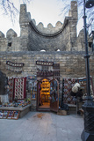Exterior of a Carpet Shop in Baku's Old City Photographic Print by Will Van Overbeek