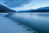 Pre-Dawn Long Exposure of the Icy Blue Chilkat River Photographic Print by Jak Wonderly