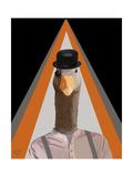 Clockwork Orange Goose Kunst von  Fab Funky
