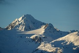 A Scenic View of the Snow-Covered Chilkat Range Photographic Print by Bob Smith