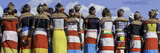 Colorful Customs and Necklaces of Rendille and Samburu Tribe Women in a Celebration Gathering Photographic Print by Babak Tafreshi