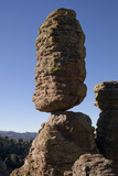 Balanced Pinnacle Rock in the Heart of Rocks in Chiricahua National Monument Photographic Print by Scott Warren