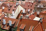 Prague Rooftops Photographic Print by Jill Schneider