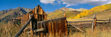 Barn, Last Dollar Road, Telluride, Colorado Photographic Print by Panoramic Images
