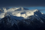 Low Clouds over the Snow-Capped Chilkat Range Photographic Print by Bob Smith