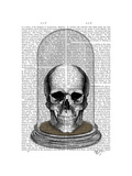 Skull in Bell Jar Posters by  Fab Funky