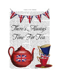 Time for Tea Premium Giclee Print by  Fab Funky