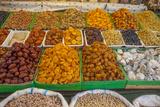 Dried Fruit for Sale in a Baku Bazaar Photographic Print by Will Van Overbeek