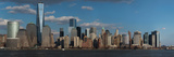 Panoramic View of New York City Skyline on Water Featuring One World Trade Center (1Wtc) Photographic Print by Panoramic Images