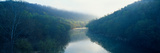Morning Fog on Cumberland River, Kentucky Photographic Print by Panoramic Images
