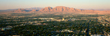 Panoramic View of Las Vegas Nevada Gambling City at Sunset Photographic Print by Panoramic Images