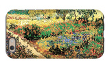 Flowering Garden with Path iPhone 6 Case by Vincent van Gogh