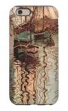 Sailboats in Wellenbewegtem Water (The Port of Trieste) iPhone 6s Case by Egon Schiele
