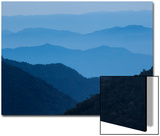 The Eastern Slopes of the Andes Mountains at Twilight Art by Gabby Salazar