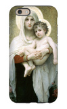 The Madonna of the Roses iPhone 6 Case by William Adolphe Bouguereau