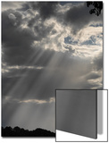 Shafts of Sunlight Stream from Storm Clouds Poster by Amy White Al Petteway