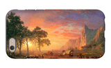 The Oregon Trail iPhone 6 Case by Albert Bierstadt