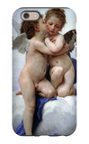 First Kiss iPhone 6 Case by William Adolphe Bouguereau