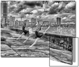 Ballerinas from the National Ballet of Cuba Dance on Havana's Malecon Prints by Kike Calvo