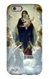 The Virgin with Angels iPhone 6 Case by William Adolphe Bouguereau