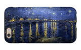 Starry Night over the Rhone iPhone 6 Case by Vincent van Gogh