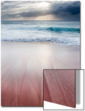 Sunset over Papohaku Beach, One of the Longest Beaches in the Hawaiian Islands, Molokai, Hawaii Plakat af Jonathan Kingston