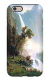 Yosemite Falls iPhone 6 Case by Albert Bierstadt