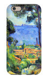 View of L'Estaque and Chateaux d'If iPhone 6 Case by Paul Cézanne