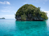 An Isolated Island in the Rock Islands of Palau Art by Jody Macdonald