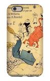 La Vache Enragee iPhone 6 Case by Henri de Toulouse-Lautrec