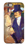 The English Man at the Moulin Rouge iPhone 6 Case by Henri de Toulouse-Lautrec