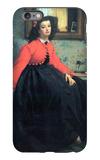 Portrait of Mme. L.L. iPhone 6 Plus Case by James Tissot